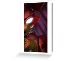 Foxy the Prirate Fox Greeting Card