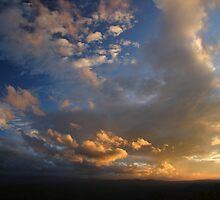 Smoky Mountain Sunset by William C. Gladish