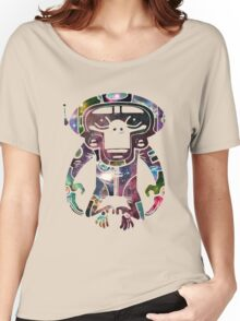 Space Monkeyz Celestial Graphic Women's Relaxed Fit T-Shirt