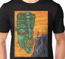 Who Wares the Green Mask? Unisex T-Shirt
