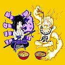【3700+ views】NARUTO: Naruto and Sasuke by Ruo7in