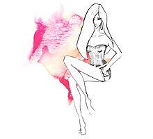 chic lingerie Photographic Print