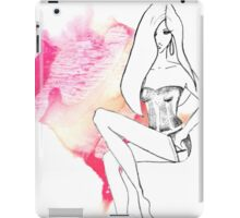 chic lingerie iPad Case/Skin