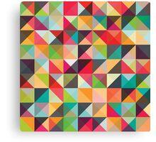 A pixel art style background design Canvas Print