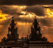 Warbirds and Liver Birds by Paul Madden