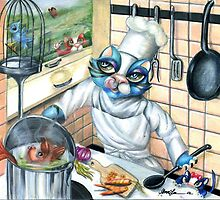 Drop on in for Dinner by Alma Lee