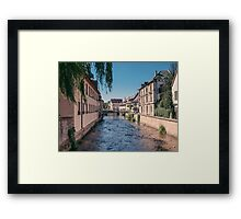 Small town, Germany Framed Print