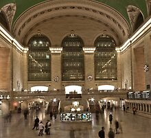 Grand Central Station, New York by Jane Terekhov