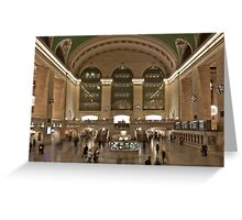 Grand Central Station, New York Greeting Card
