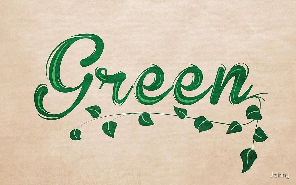 Green by Jane Terekhov