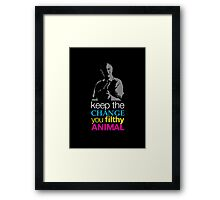 Home Alone - Keep the Change You Filthy Animal Framed Print