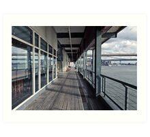 Pier 17 Art Print