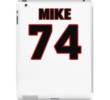 NFL Player Mike Remmers seventyfour 74 iPad Case/Skin