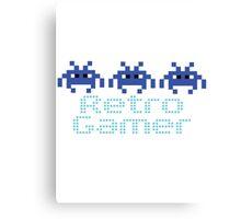 Retro Gamer Canvas Print