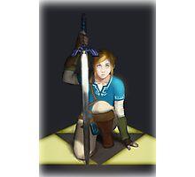 Legend of Zelda- Wii U Link- Kneel Photographic Print