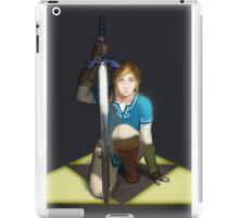 Legend of Zelda- Wii U Link- Kneel iPad Case/Skin