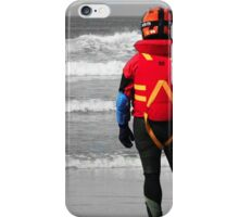 Looking out to sea iPhone Case/Skin