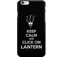 Thresh - League of Legends - Keep Calm and Click On Lantern - White iPhone Case/Skin
