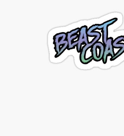 BEAST COAST Sticker