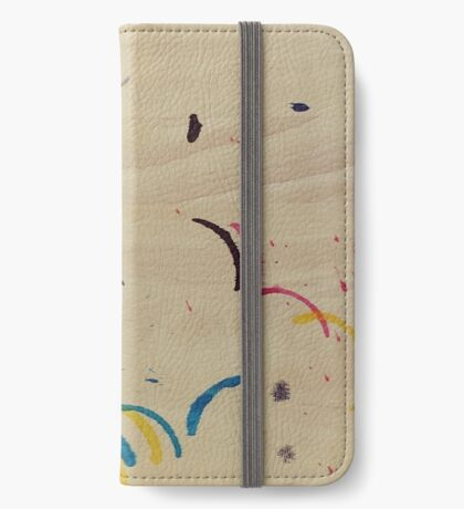 Colorful Stains iPhone Wallet/Case/Skin