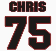 NFL Player Chris Hairston seventyfive 75 by imsport