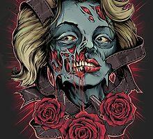 Norma Jeane Zombie by ottyag