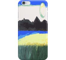 ARRIVING AT THE BEACH iPhone Case/Skin