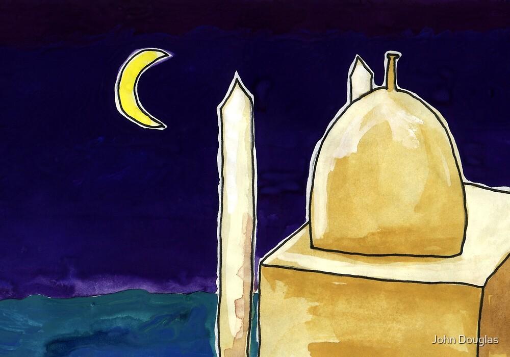 Mosque Night by John Douglas