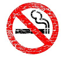 NO SMOKING by JamesChetwald