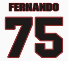NFL Player Fernando Velasco seventyfive 75 by imsport
