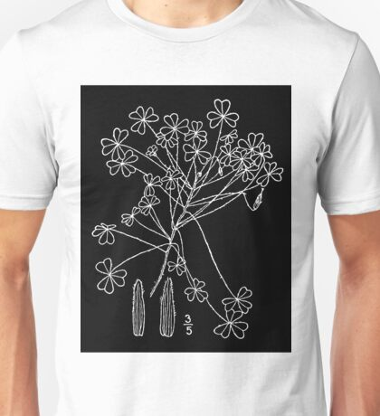 Britton And Brown Illustrated flora of the northern states and Canada 1045 Oxalis dillenii BB 1913 1 Unisex T-Shirt