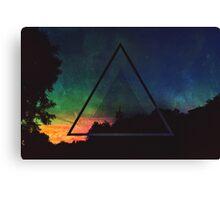 Daytime Aurora Canvas Print