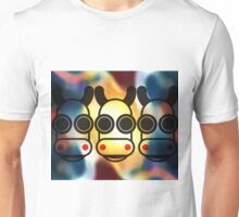 MOODI FACES 03, by m a longbottom - PLATFORM58 Unisex T-Shirt