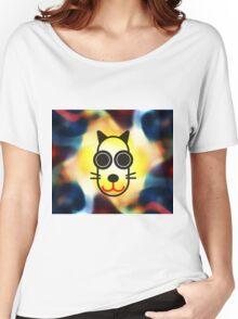 MOODI 1 cat, by m a longbottom - PLATFORM58 Women's Relaxed Fit T-Shirt