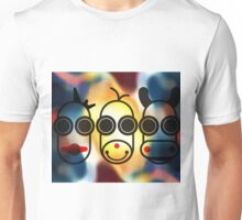 MOODI FACES 02, by m a longbottom - PLATFORM58 Unisex T-Shirt