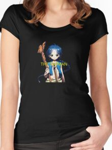 Magi, The Dayman Women's Fitted Scoop T-Shirt
