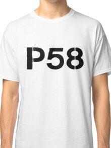P58 - LOGO BLACK ON WHITE OR LIGHT Classic T-Shirt
