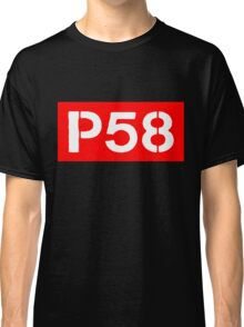 P58 - LOGO IN RED RECTANGLE Classic T-Shirt