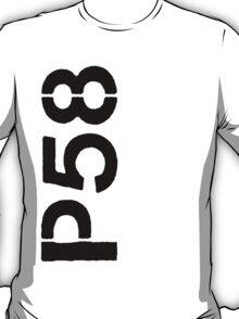 P58 - LOGO BLACK VERTICAL T-Shirt