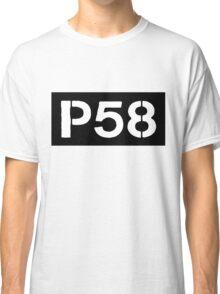 P58 - LOGO IN BLACK RECTANGLE Classic T-Shirt