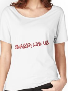 Swagger like us Women's Relaxed Fit T-Shirt