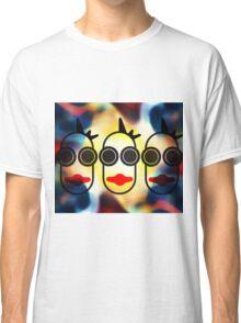 MOODI 3 face, by m a longbottom - PLATFORM58 Classic T-Shirt