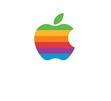 80's Apple Computer Logo by Gage White
