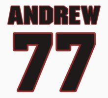 NFL Player Andrew Whitworth seventyseven 77 by imsport