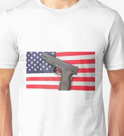 america more shootings then any other country Unisex T-Shirt