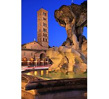 Saint Mary in Cosmedin, Rome Photographic Print