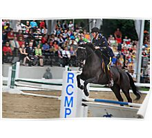 Jumping Show Poster