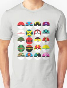 Minimal Pokeballs T-Shirt