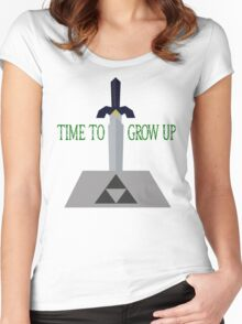 Time to Grow Up Women's Fitted Scoop T-Shirt