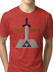 Time to Grow Up Tri-blend T-Shirt